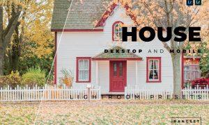 House Desktop and Mobile Lightroom Preset