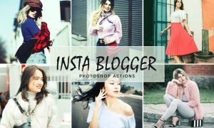 Insta Blogger Photoshop Actions