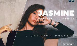 Jasmine Desktop and Mobile Lightroom Preset