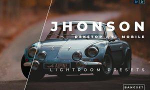 Jhonson Desktop and Mobile Lightroom Preset