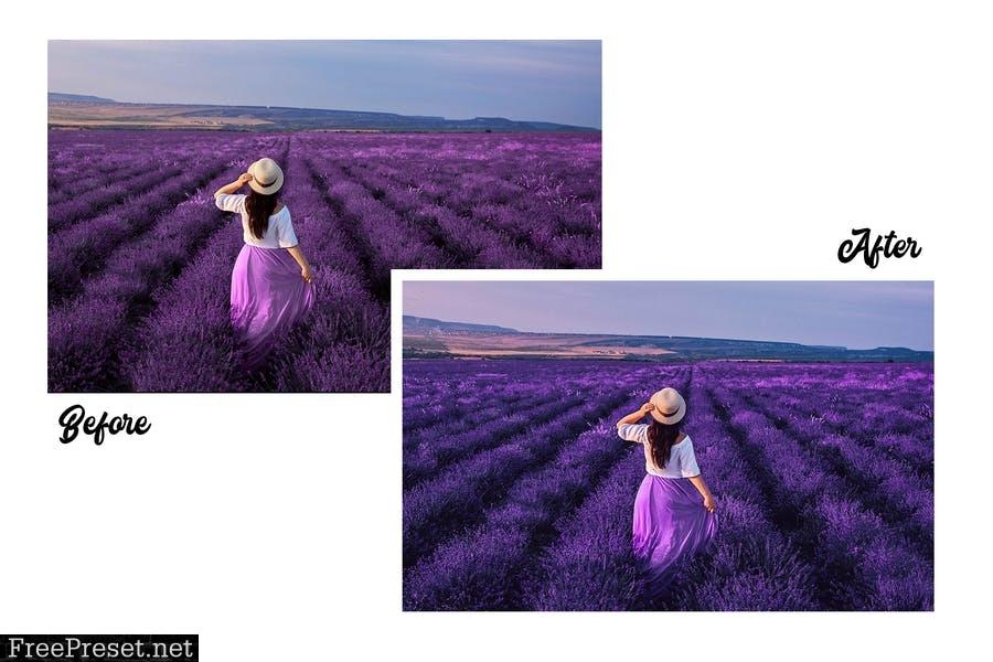 Lavender - 15 Premium Lightroom Presets