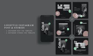 Lifestyle Instagram Post & Stories YUMBKC3