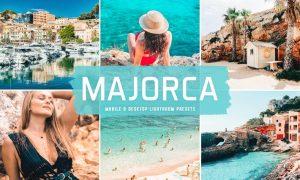 Majorca Mobile & Desktop Lightroom Presets
