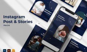 Marhaban Ya Ramadhan Instagram Stories & Post Pack 4UW6YKW