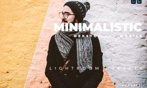 Minimalistic Desktop and Mobile Lightroom Preset