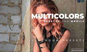 Multicolors Desktop and Mobile Lightroom Preset