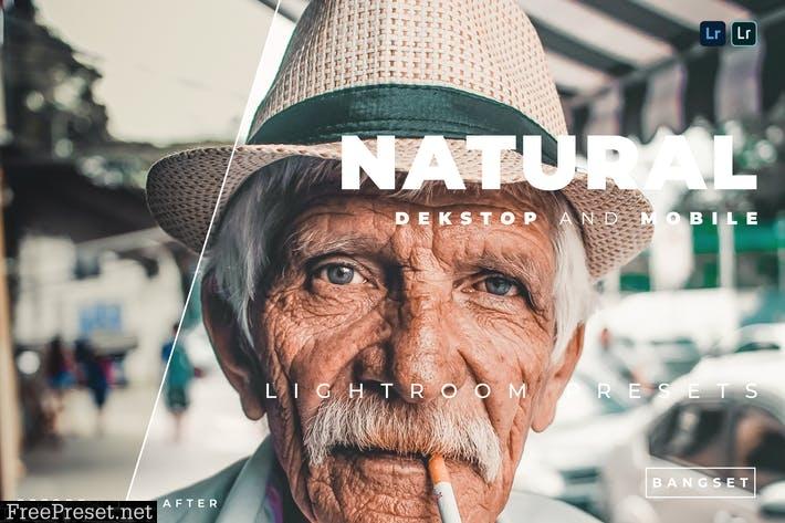 Natural Desktop and Mobile Lightroom Preset