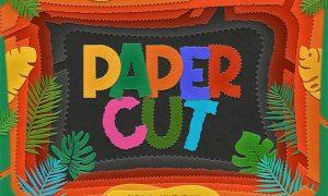 Paper Cutout Photoshop Action