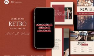 Pick your book - Retro Instagram Pack GV9QDH8