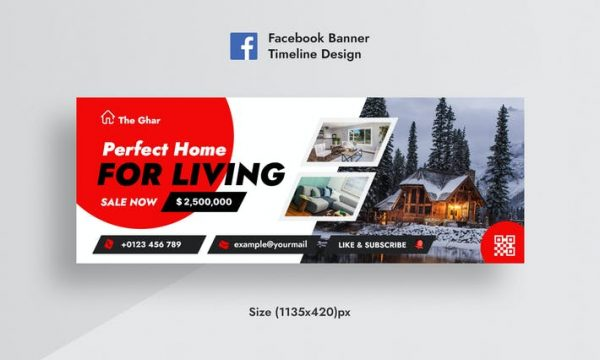 RealEstate FB AD Banner Facebook Timeline Cover FGSQJQA