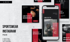 Sportswear Instagram Stories & Post Pack 46HMRX2