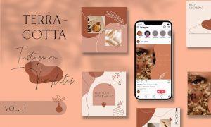 Terracotta Instagram Templates Vol.1 NYCK9M6