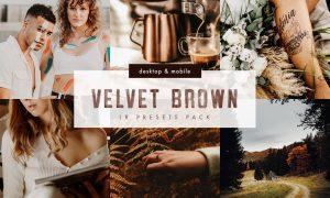 Velvet Brown Lightroom Presets Pack 5999802