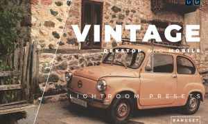 Vintage Desktop and Mobile Lightroom Preset