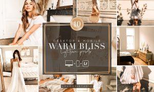 WARM BLISS - Lightroom Presets 5954731