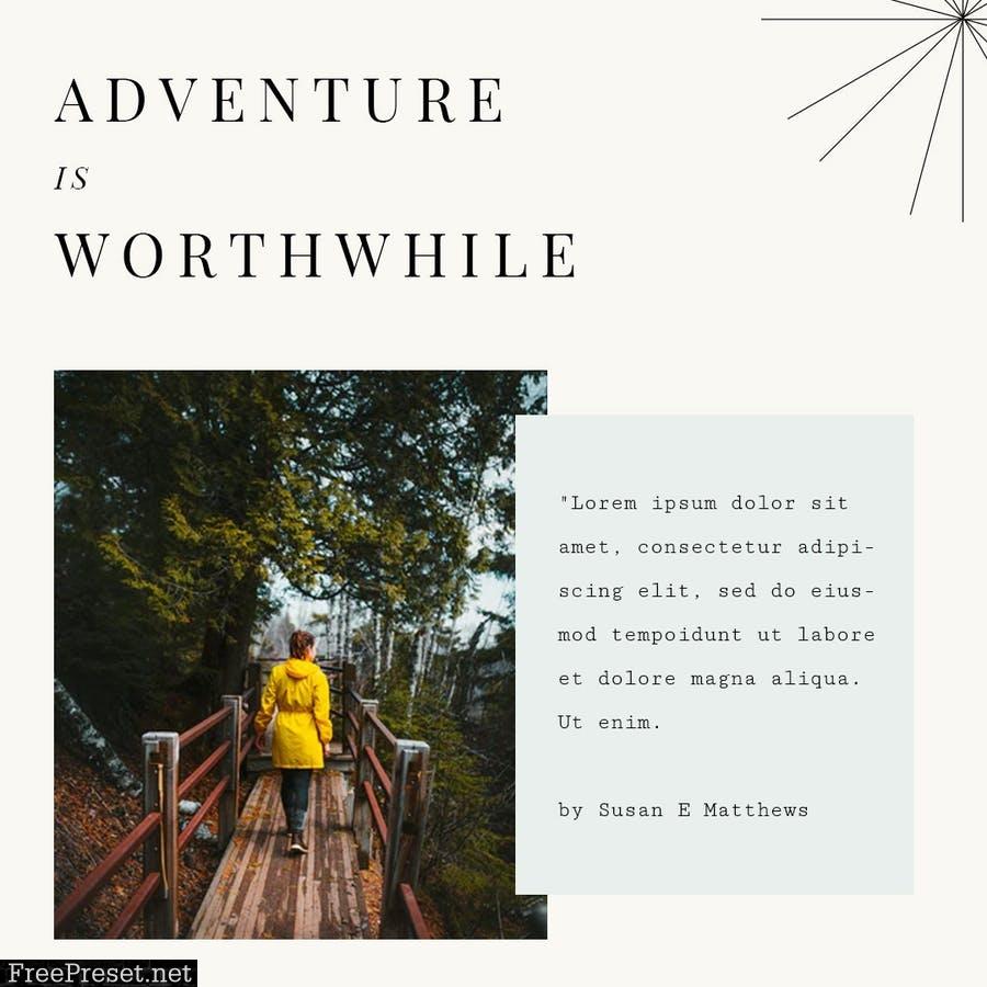 World Travelers Instagram Stories & Post Pack DMEJGZF