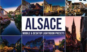 Alsace Mobile and Desktop Lightroom Presets