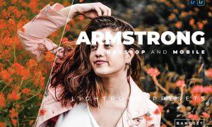 Armstrong Desktop and Mobile Lightroom Preset