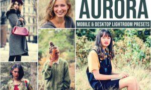 Aurora Mobile and Desktop Lightroom Presets