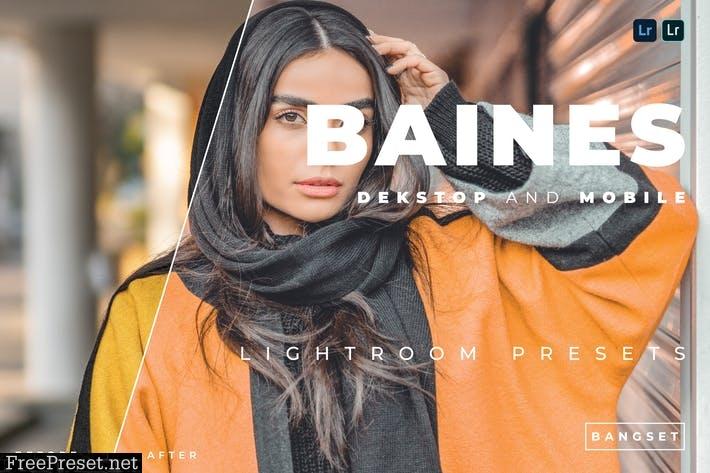 Baines Desktop and Mobile Lightroom Preset
