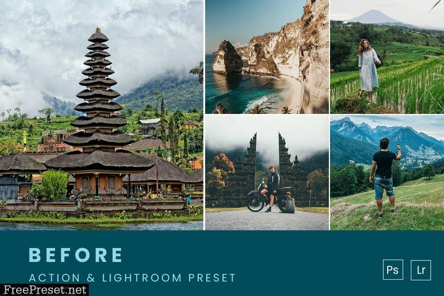 Bali Tones Action & Lightroom Preset
