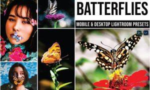 Batterflies Mobile and Desktop Lightroom Presets