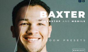 Baxter Desktop and Mobile Lightroom Preset