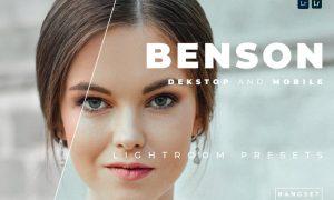 Benson Desktop and Mobile Lightroom Preset