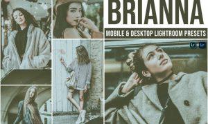 Brianna Mobile and Desktop Lightroom Presets