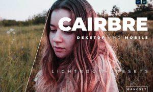 Cairbre Desktop and Mobile Lightroom Preset
