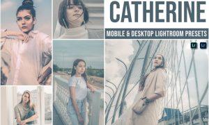 Catherine Mobile and Desktop Lightroom Presets