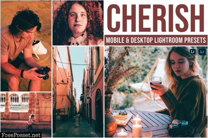 Cherish Mobile and Desktop Lightroom Presets