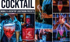Cocktail Mobile and Desktop Lightroom Presets
