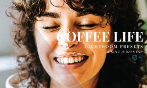 Coffe Life Mobile and Desktop Lightroom Presets