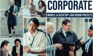 Corporate Mobile and Desktop Lightroom Presets