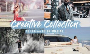 Creative LUTs / Color Grading Filter 5808092