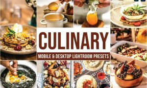 Culinary Mobile and Desktop Lightroom Presets