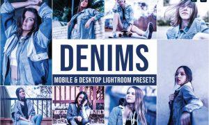 Denims Mobile and Desktop Lightroom Presets