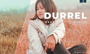 Durrel Desktop and Mobile Lightroom Preset