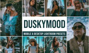Dusky mood Mobile and Desktop Lightroom Presets