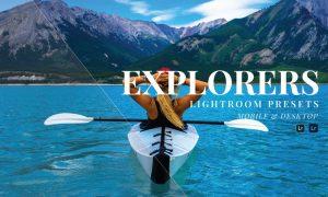 Explorers Mobile and Desktop Lightroom Presets