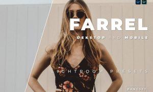 Farrel Desktop and Mobile Lightroom Preset