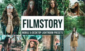 Filmstory Mobile and Desktop Lightroom Presets