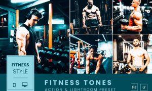 Fitness Tones Action & Lightroom Preset