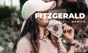 Fitzgerald Desktop and Mobile Lightroom Preset