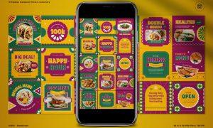 Food Instagram Mexican Theme QXEMF3W
