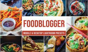 Foodblogger Mobile and Desktop Lightroom Presets
