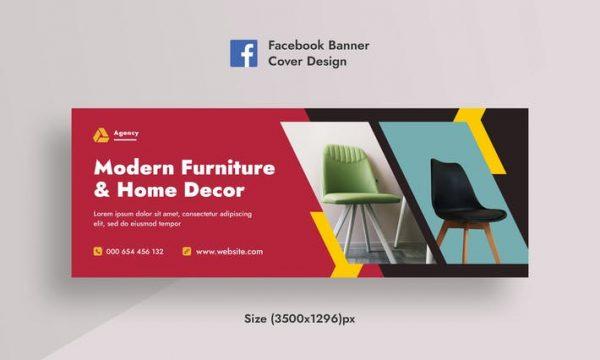 Furniture & Home Decor Facebook Cover & Web Banner NTMXK6E