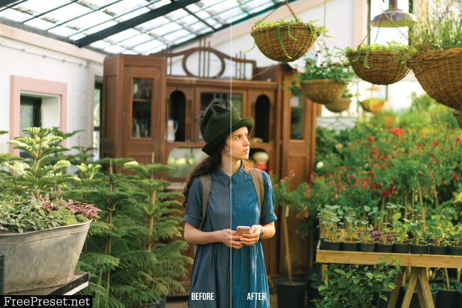 Garden Mobile and Desktop Lightroom Presets