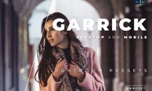 Garrick Desktop and Mobile Lightroom Preset